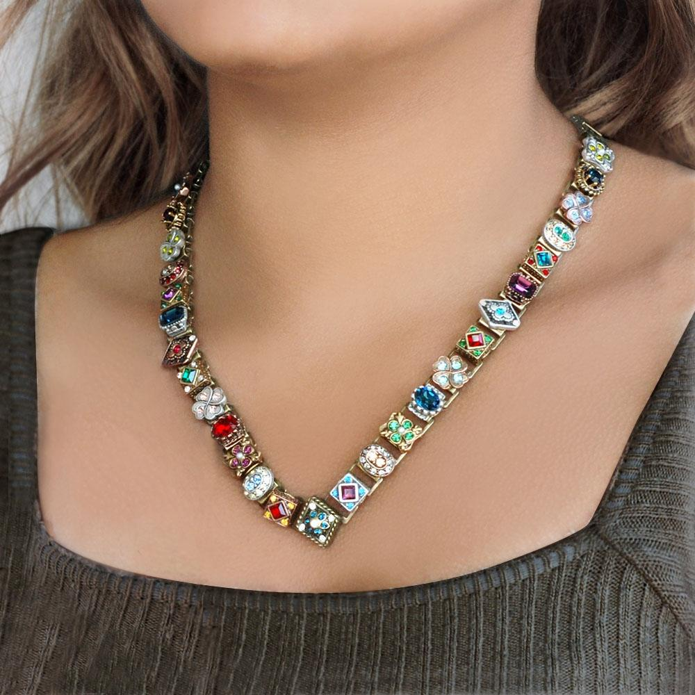 Autumn Haze Necklace N1390 - sweetromanceonlinejewelry
