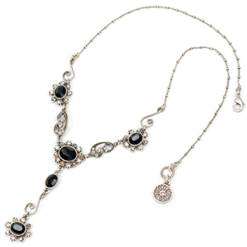 Victorian Jewel Y Necklace N1402