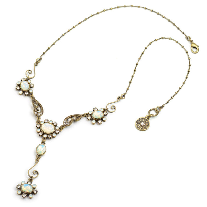 Opal Victorian Jewel Y Necklace SR_N1402