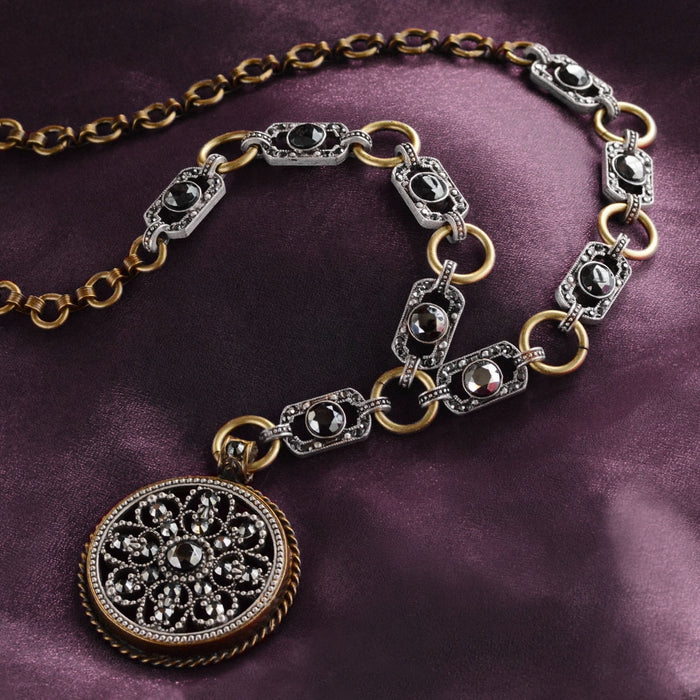 Gothic Window Necklace N1403 - sweetromanceonlinejewelry