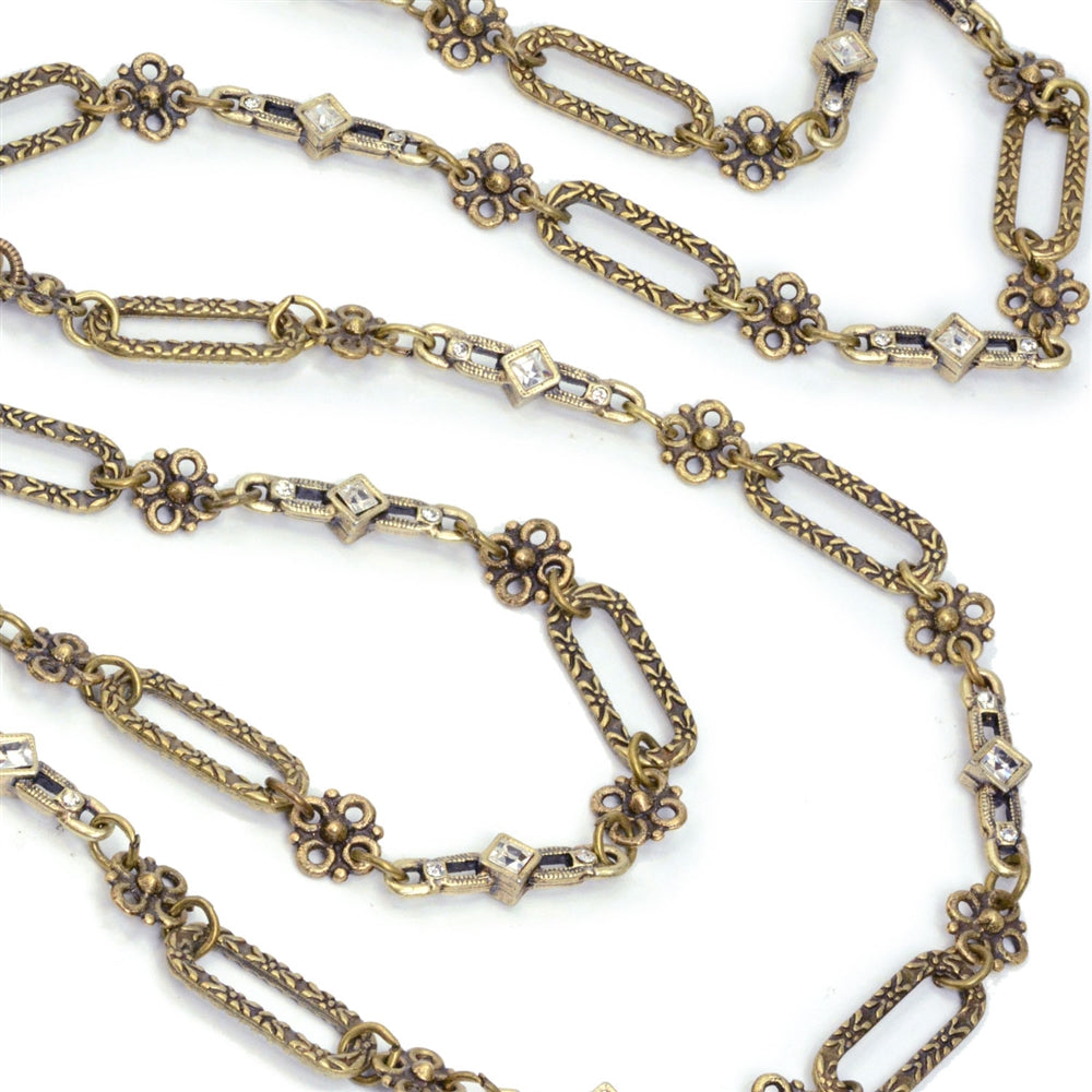 Bronze Chantilly Chain Necklace N1441-BZ