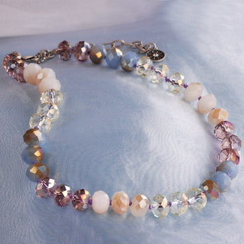 Pastel Sorbet Bead Necklace N1540-PU