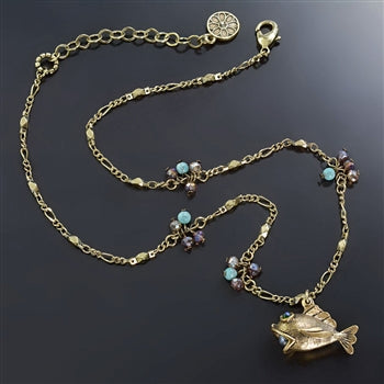 Little Fish Ocean Necklace