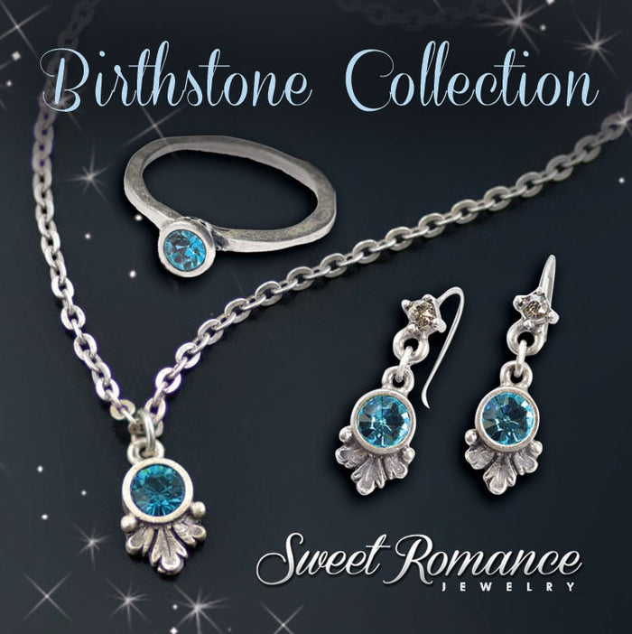 Swarovski Crystal Solitaire Birthstone Pendant Necklace - sweetromanceonlinejewelry