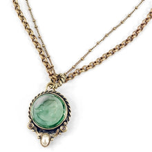 Load image into Gallery viewer, Palatina Intaglio Pendant N518 - sweetromanceonlinejewelry