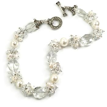 Glam Retro Necklace N5550 - sweetromanceonlinejewelry