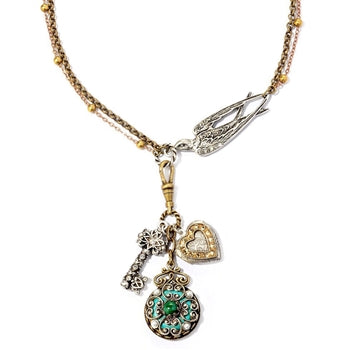 Small Treasures Necklace N799 - sweetromanceonlinejewelry
