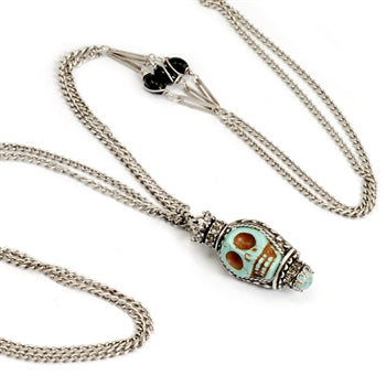 Skull Queen Necklace - sweetromanceonlinejewelry