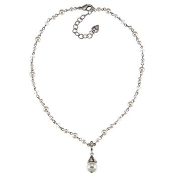 Demi Pearl Necklace N881 - sweetromanceonlinejewelry