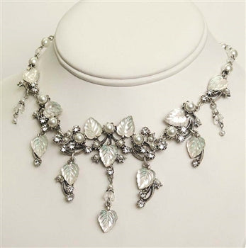 Glass Garden Collar - ONLY 1 LEFT! - sweetromanceonlinejewelry