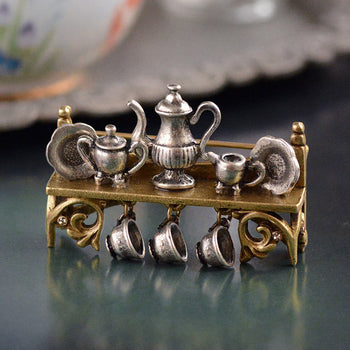 Tea Shelf Pin P101