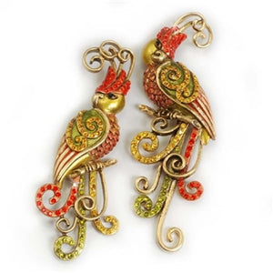 Set of 2 Love Bird Pins P169