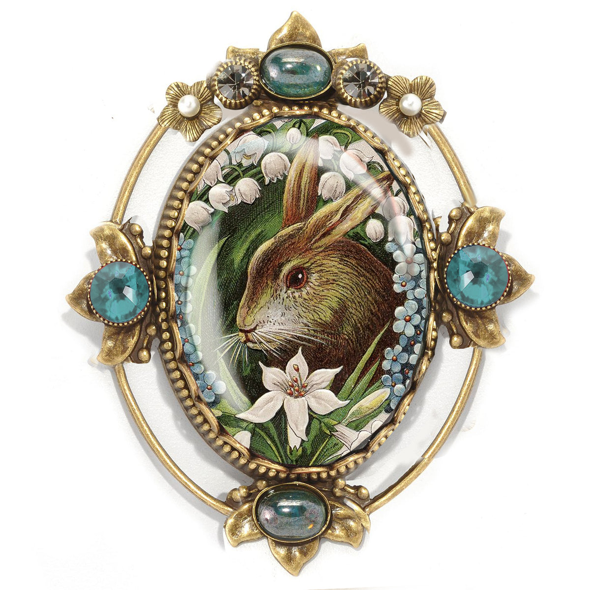 Vickie the Bunny Vintage Easter Pin P330-VI