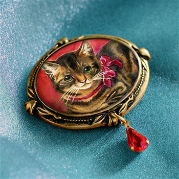 Kitty Valentine Pin P332 - sweetromanceonlinejewelry