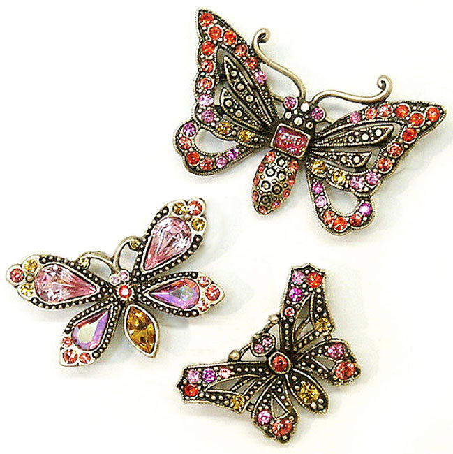Mother's Day Butterfly Pins P333 - sweetromanceonlinejewelry