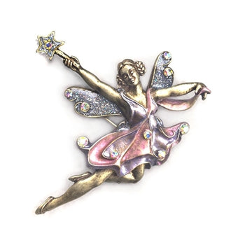 Fairy Ballerina Pin P905 - sweetromanceonlinejewelry