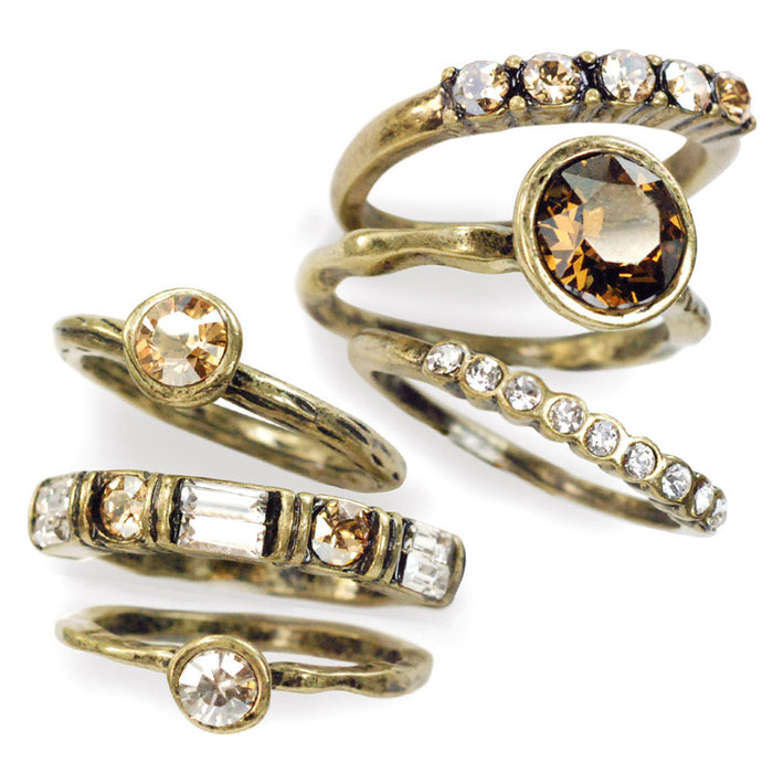 Set of 6 Stacking Rings R1120