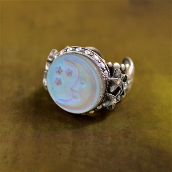 Aurora Moon Ring R423 - sweetromanceonlinejewelry