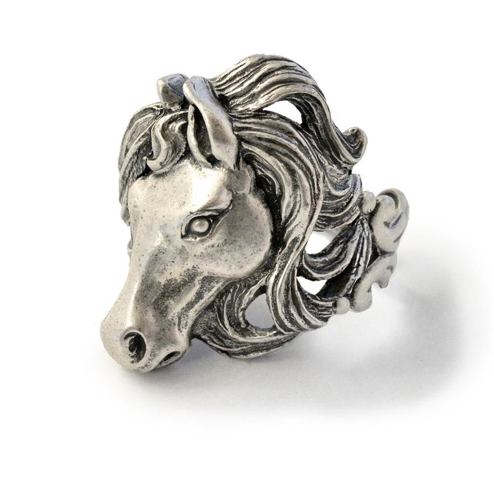 Mustang Horse Ring R526 - sweetromanceonlinejewelry