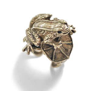 Little Frog Sculpture Ring R534