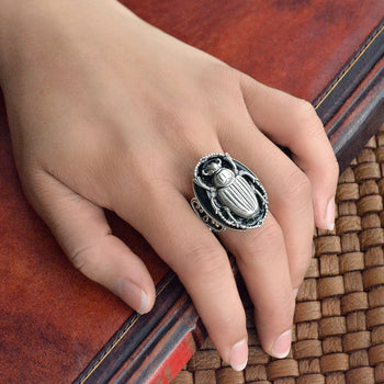 Scarab Beetle Ring R535