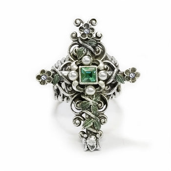 London Cross Ring R538 - sweetromanceonlinejewelry