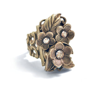 Forget Me Not Flower Ring R540