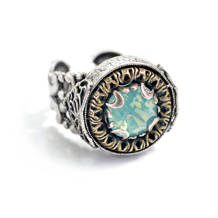 Circle Jewel Ring R555