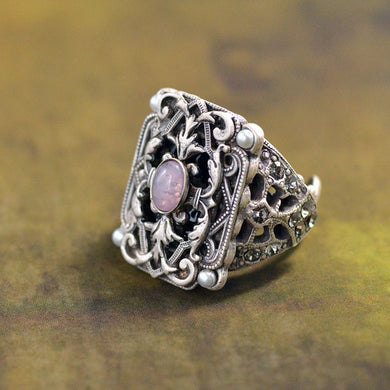 French Baroque Revival Ring R557