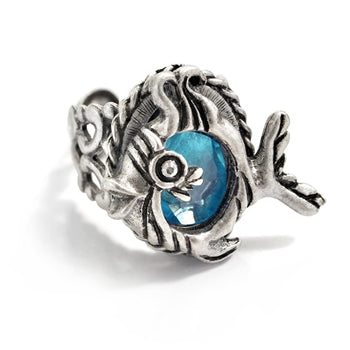 Little Fish Ring R559 - sweetromanceonlinejewelry