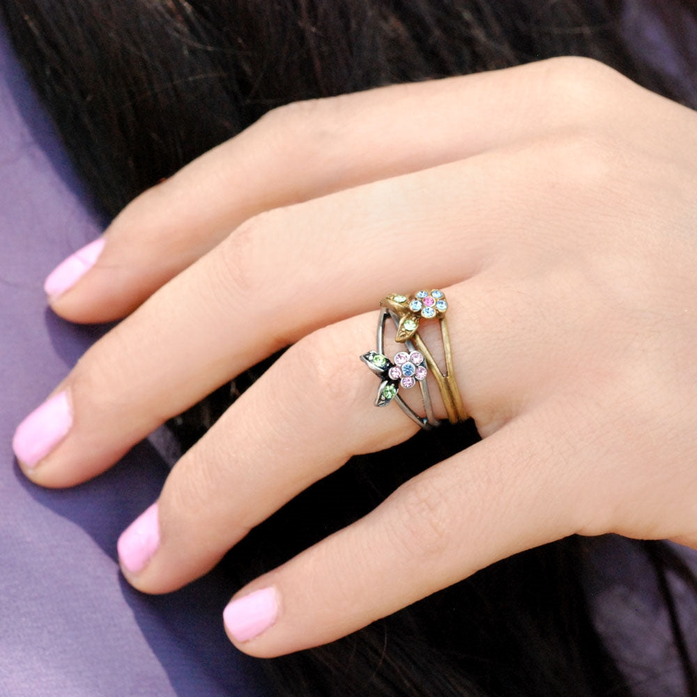 Petite Flower Toe Ring