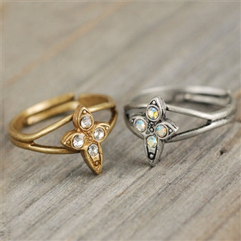 Cross Toe Ring