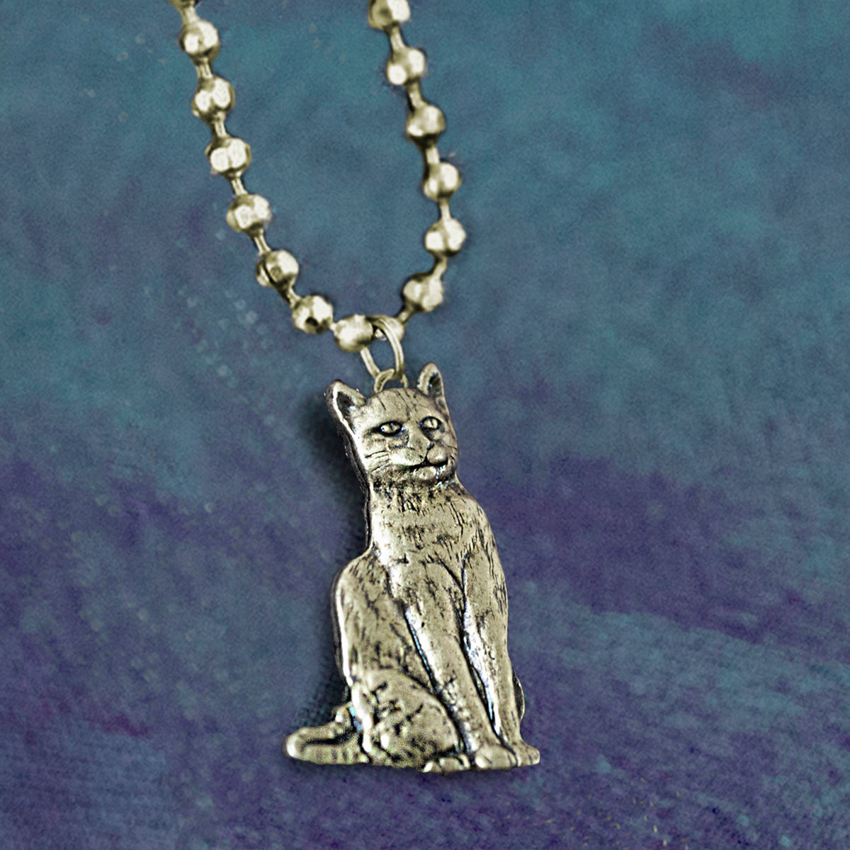 Dainty Vintage Cat Necklace - sweetromanceonlinejewelry