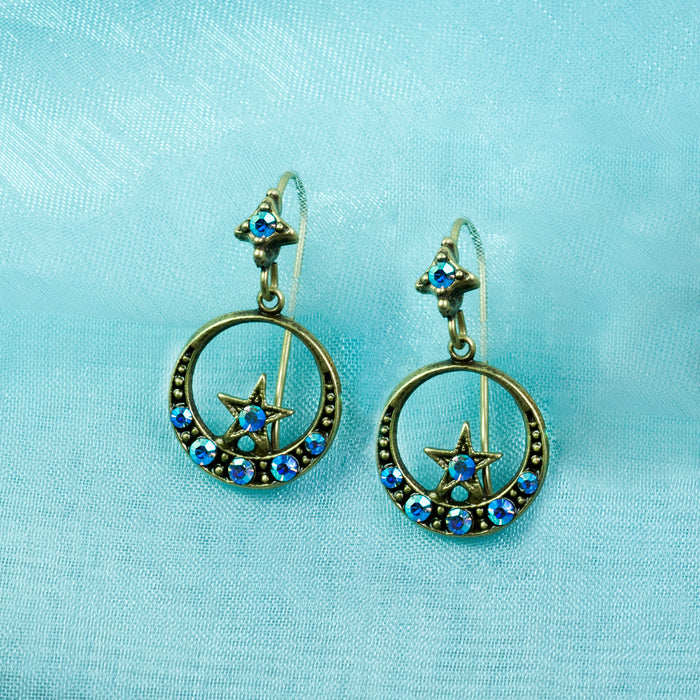 Nesting Star Earrings E1498 - sweetromanceonlinejewelry