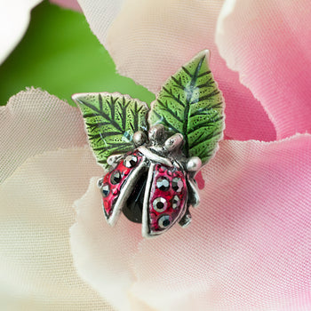 Scattered Lady Bug Hat Pin P662 - sweetromanceonlinejewelry