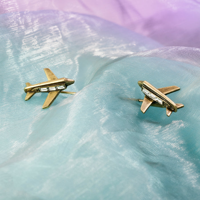 Airplane Hat Pin P677 - sweetromanceonlinejewelry