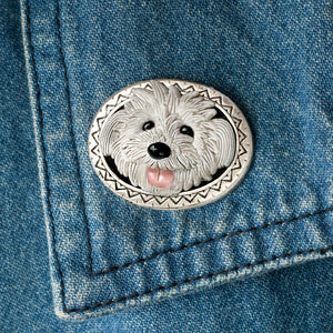 Dog Pin P682 - sweetromanceonlinejewelry