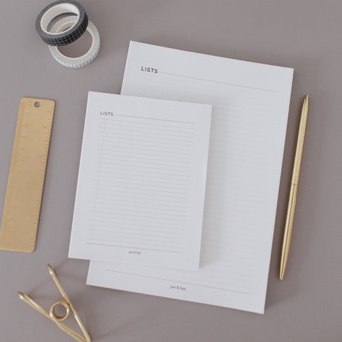 List Notepad