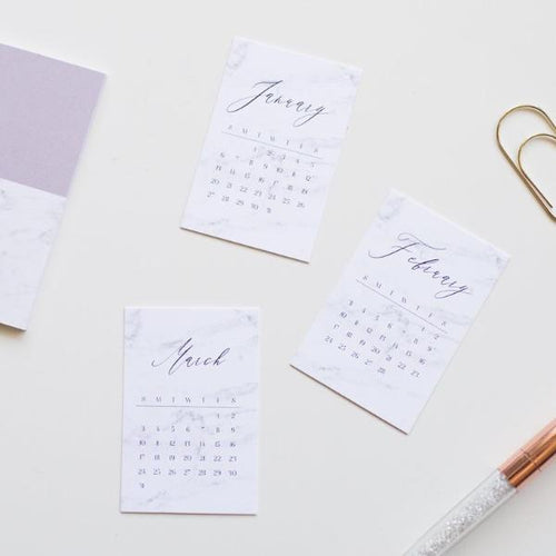 2020 Monthly Journaling Cards