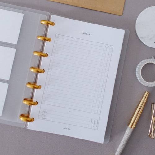 Inbox Planner Inserts // Mini Happy Planner