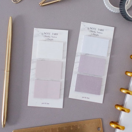 Note Tabs Set - Purple