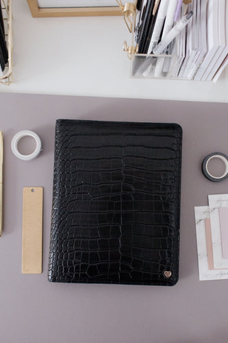 A5 Desk Agenda Compact Cover | Vegan Leather Planner