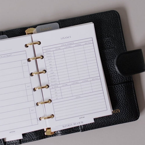 Finance Bundle Planner Inserts // Ring Planners // Original Collection