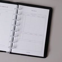 Load image into Gallery viewer, Finance Bundle Planner Inserts // Mini Happy Planner