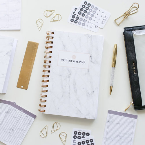 The Work It Planner // Undated 6 Month Coil Planner