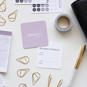 Planner Girl Note Card