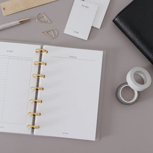 Notes Planner Inserts // Mini Happy Planner