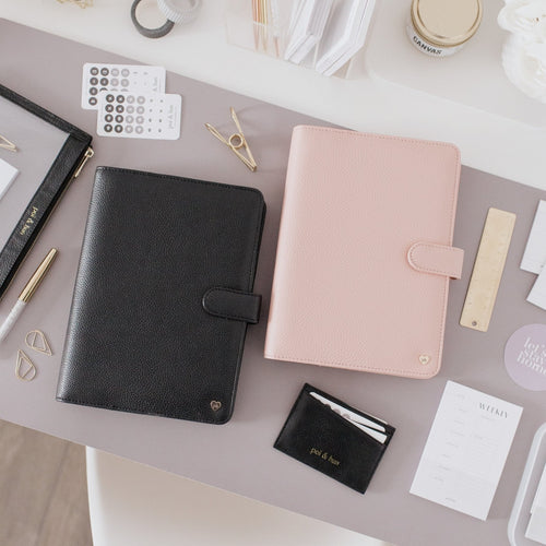 A5 Agenda Cover | Vegan Leather Planner