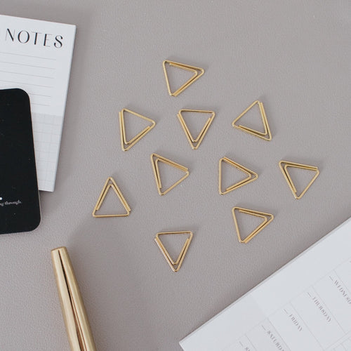 Triangle Paper Clips