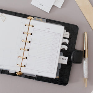 Tasks Tracker Planner Inserts // Ring Planners // Original Collection